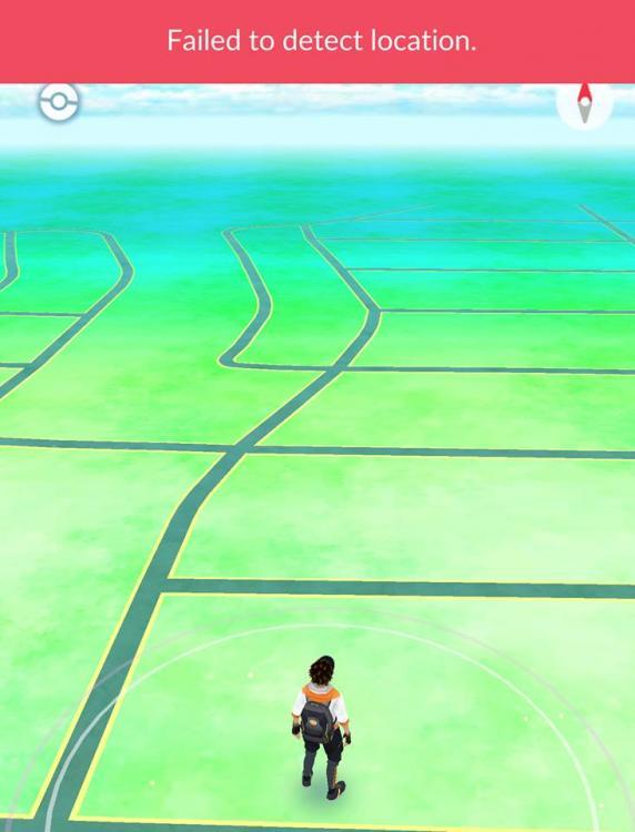 Failed to Detect Location no Pokemon Go [RESOLVIDO]